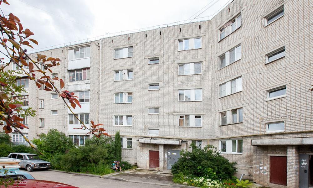 Дом на Марии Расковой