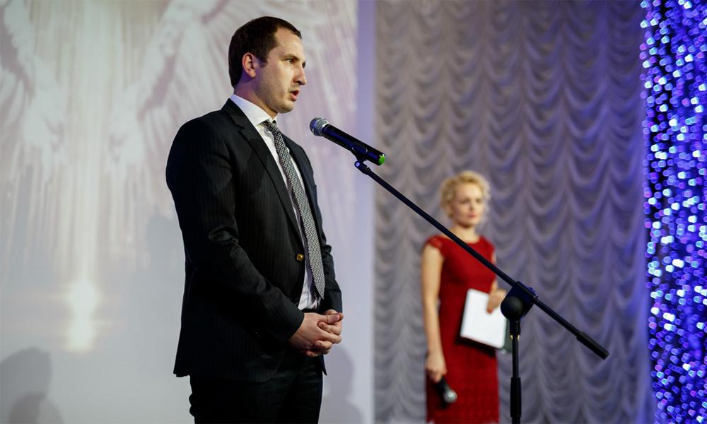 Заместитель Губернатора Смоленской области, сопредседатель экспертного жюри конкурса Ростислав Ровбель.