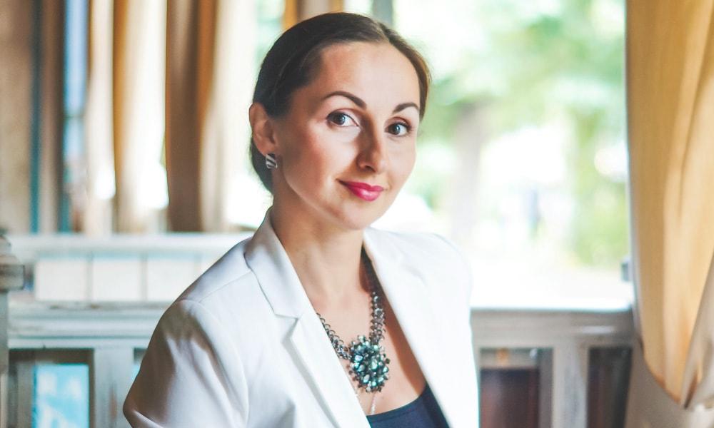 Управляющая  рестораном «Сан Жак» Ксения Веселовская
